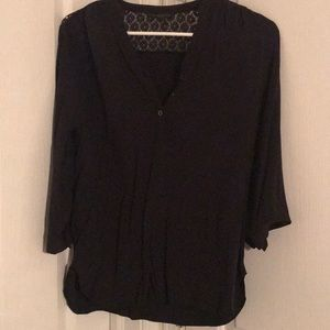 Black blouse from Kenneth Cole